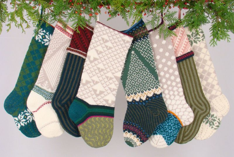 Vogue Knitting Knitted Christmas Stockings Stockings And Mittens