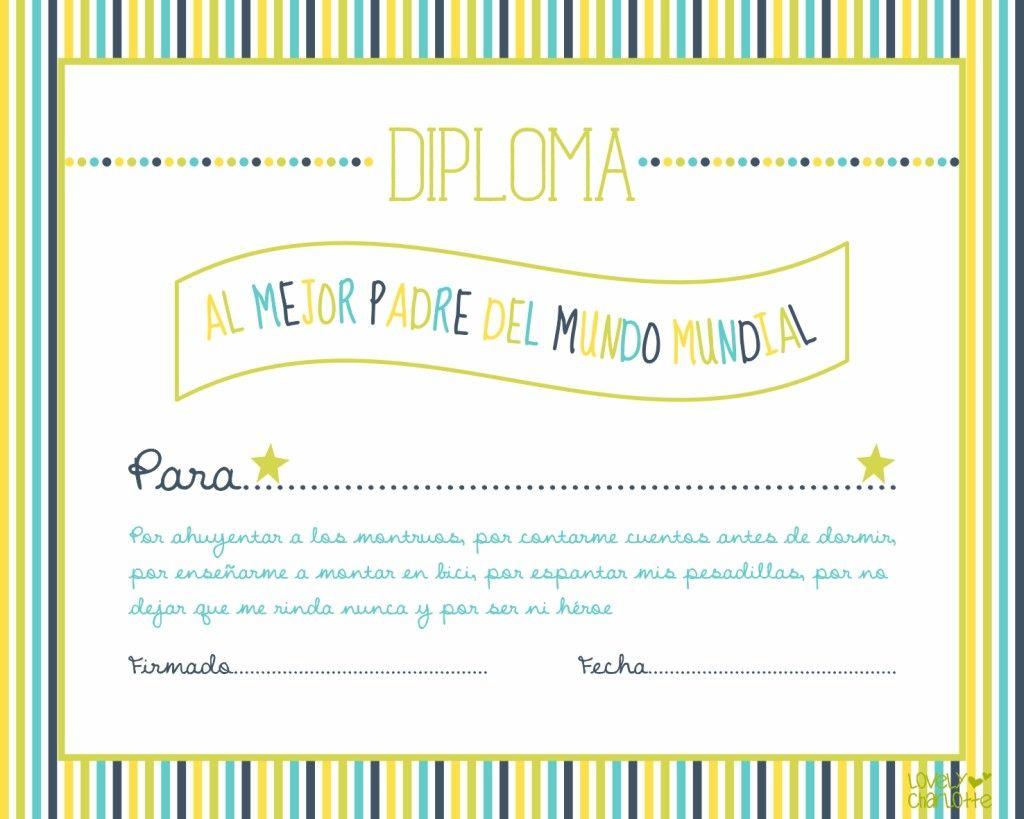 Imprimibles gratis para el día de padre en español | día del padre ...