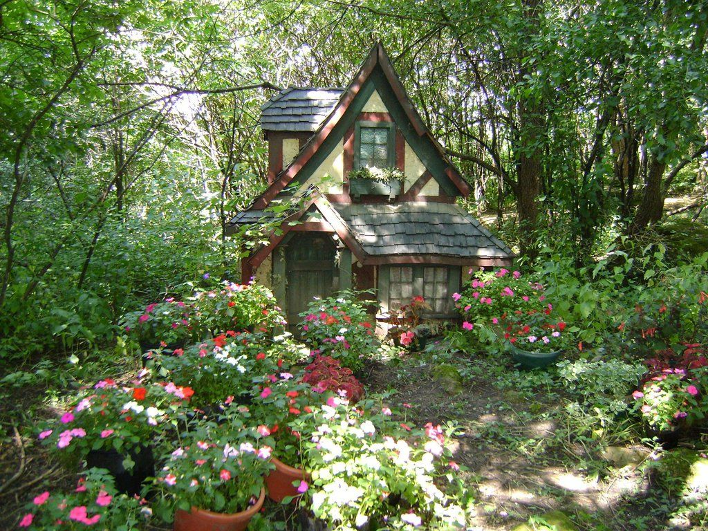 Cottage In The Woods Wallpaper Cottages Cabins And