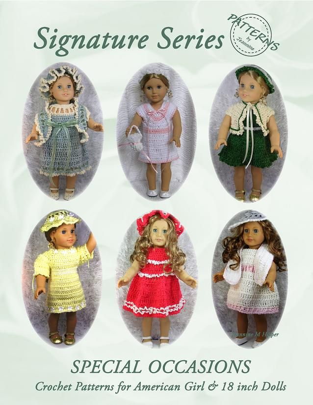 American Doll Crochet Patterns Free Crochet Patterns For 18 Inch