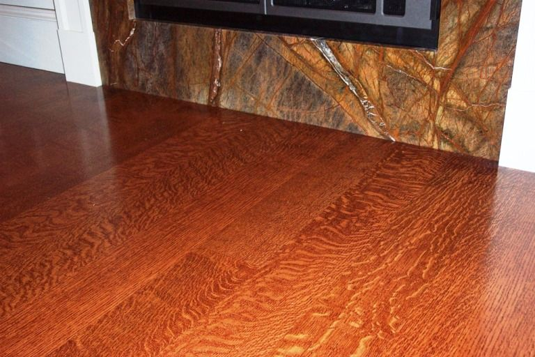 Rift and quarter sawn red oak floor with amazing fleck for Mill direct hardwood flooring
