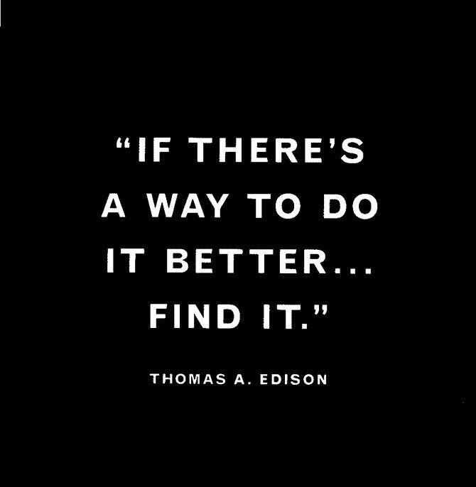 Thomas Edison Always Strive For Your Best Quote The Wisdom Behind