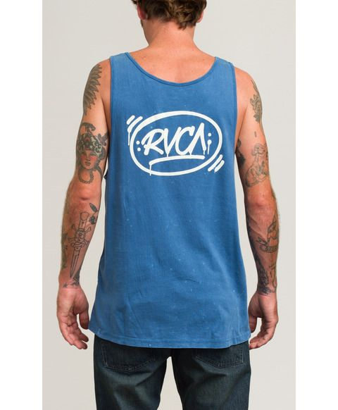 RVCA TANKS BARRIO TANK TOP