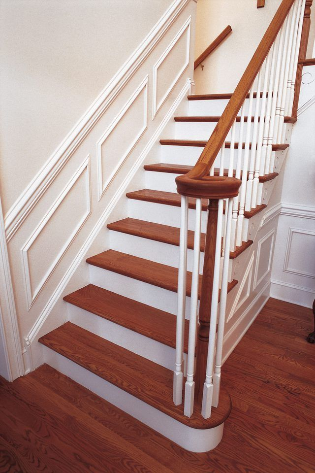 Best How To Fix A Loose Stair Banister Post Hardwood Stairs 640 x 480
