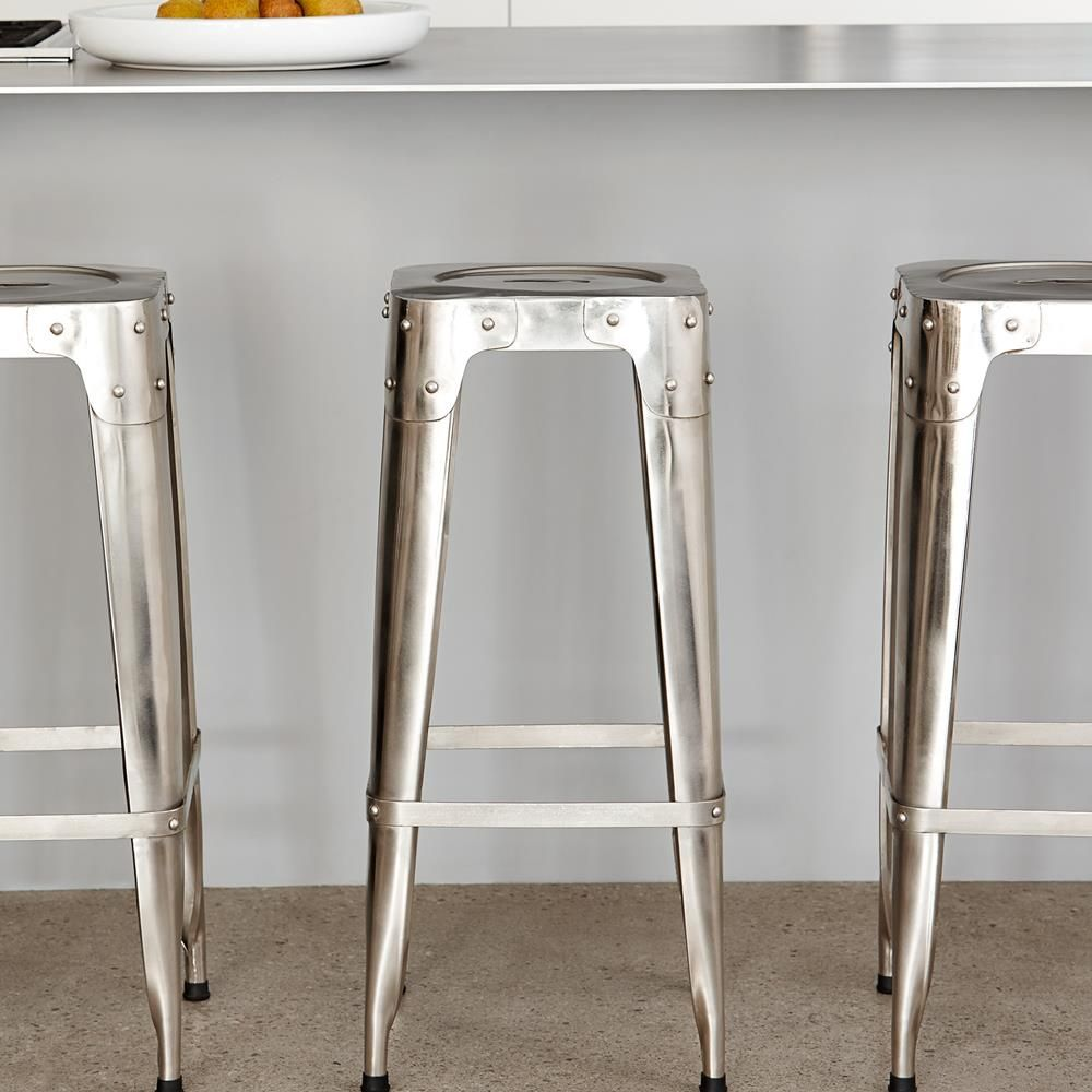 Awesome Atelier Industrial Metal Bar Stool Stools Seating Atelier Gmtry Best Dining Table And Chair Ideas Images Gmtryco