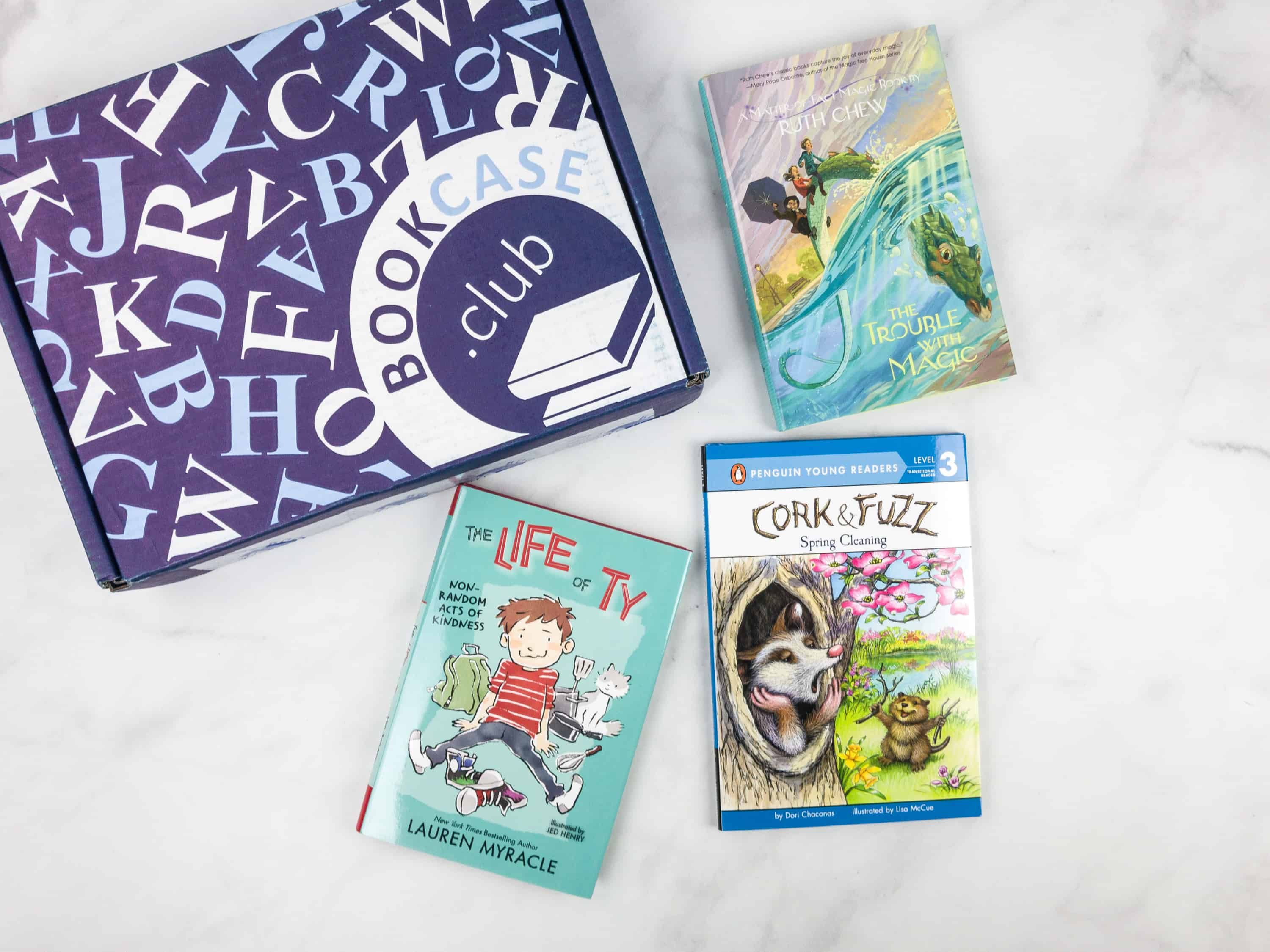 Kids Bookcase Club April 2018 Subscription Box Review Coupon O