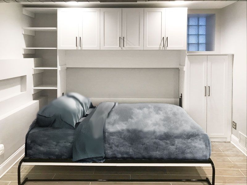 Queen Horizontal Murphy Bed Design Will Take You To Cloud 9