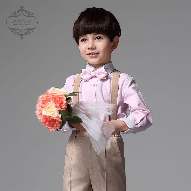 Click to Buy << 2016 EYAS Children\'s Clothing Boys Formal 4-pc ...