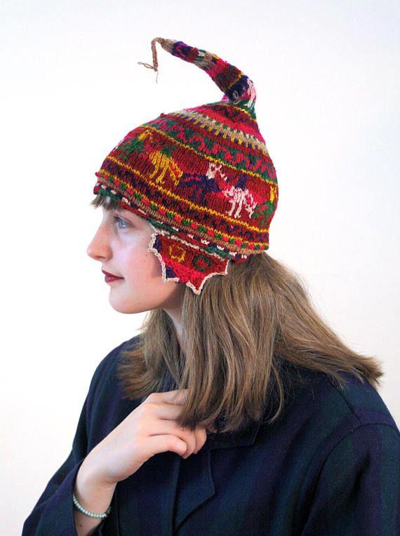fa29e4b9321 Antique Chullo Hat