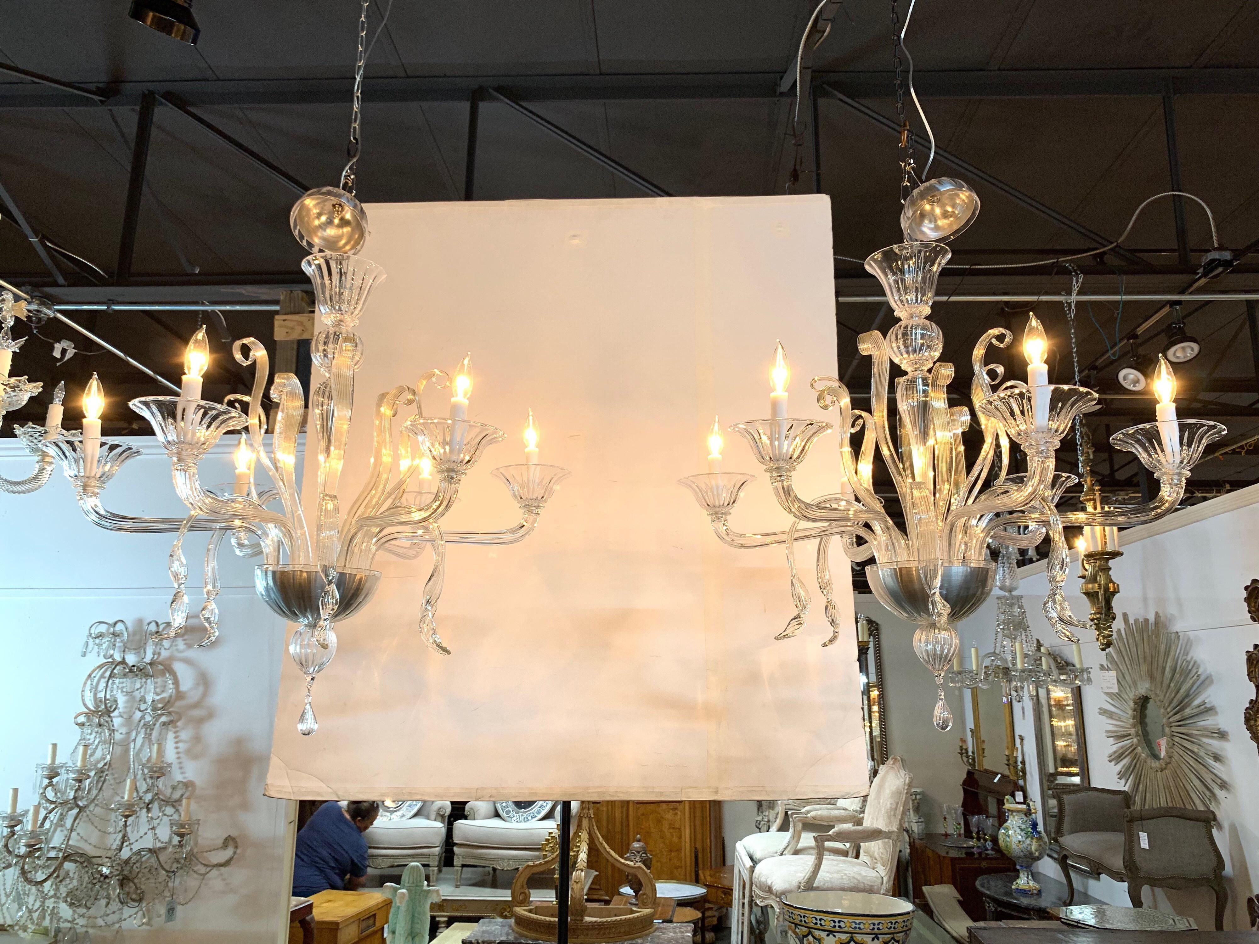 Luxury Contemporary Chandelier, Large Size: 23