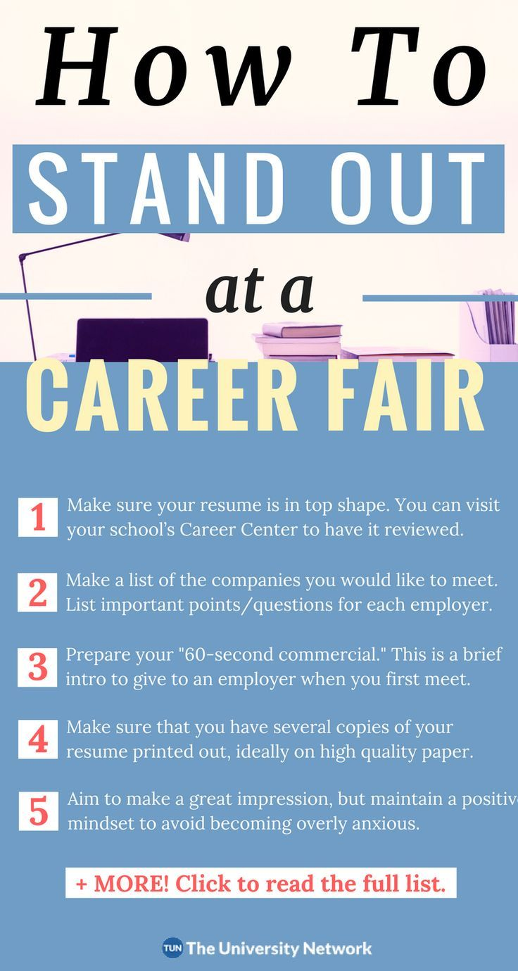 How to Survive Your First Career Fair In 9 Steps Career