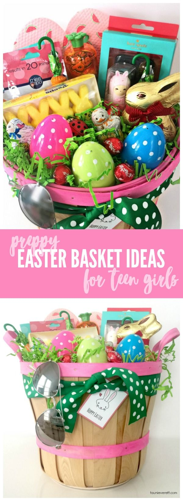 Easter basket ideas for teen girls basket ideas easter baskets easter basket ideas for teen girls negle Choice Image
