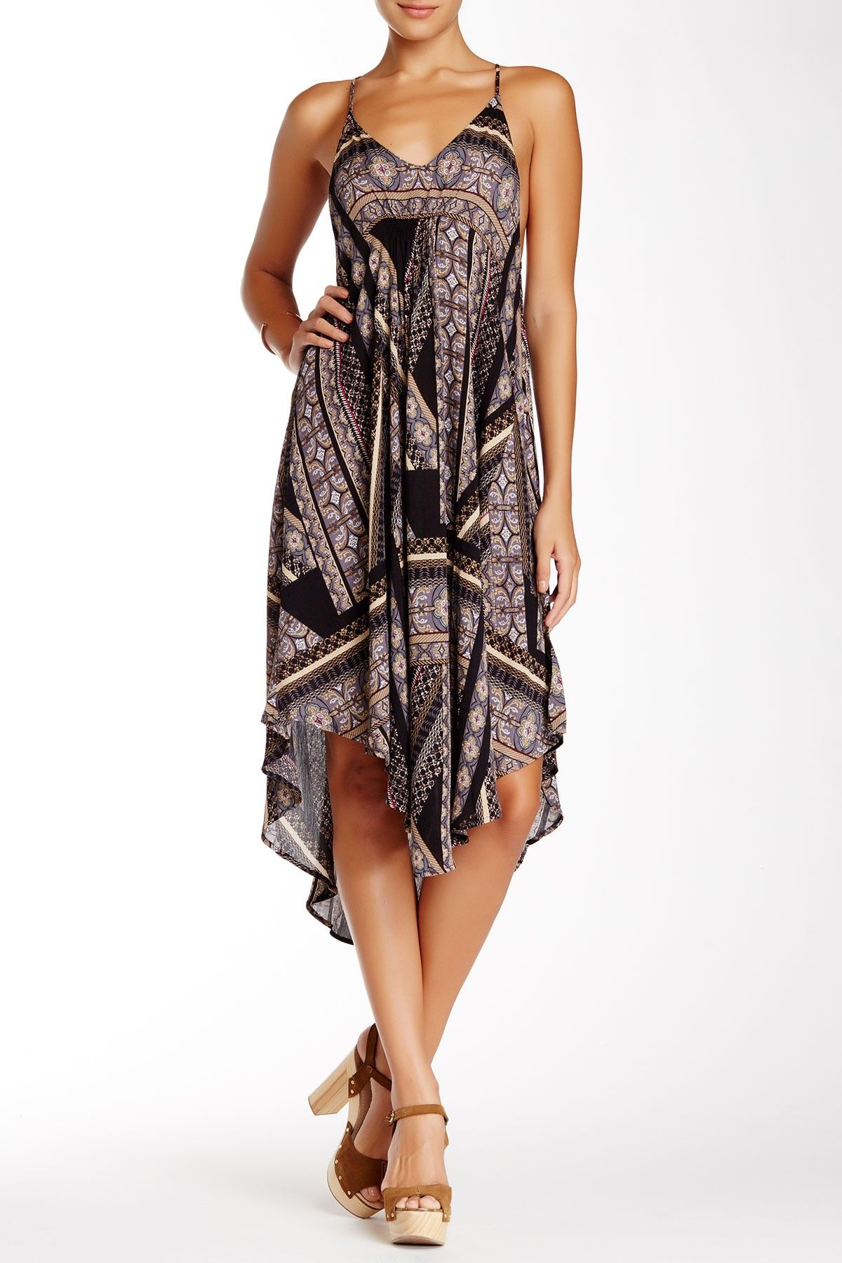fb21e7cec Strappy Midi Dress | Clothing and Style | Dresses, Nordstrom dresses ...