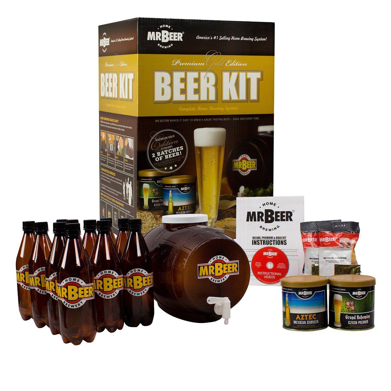 Mr Beer Beer Kit Homebrewing Craft Beer Gift Idea For Dad