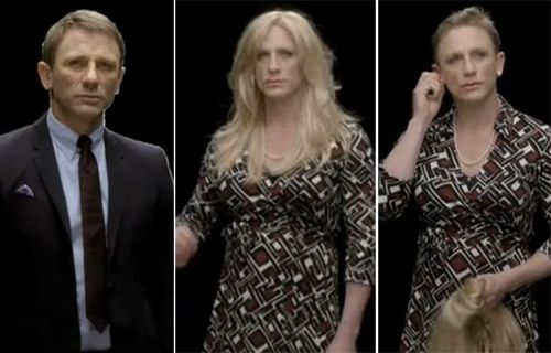 Daniel Craig In Drag For A Psa Daniel Craig Gorgeous Women Women