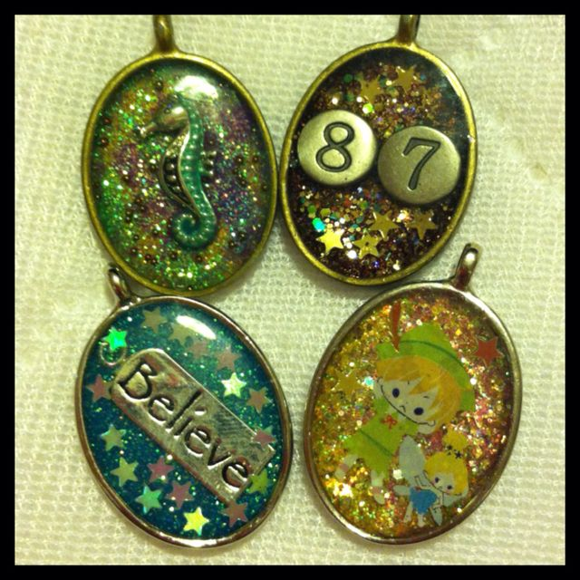 My Creations- Resin Jewelry Love it ~ must try! #ecrafty