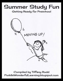 Preschool Activities: Summer Study Packet {Summer Kick-Off