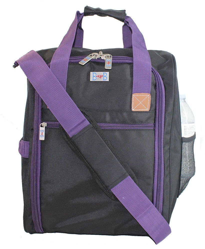 87c657383f6 Boardingblue New Under Seat Duffel bag for JetBlue Airlines -Purple ...