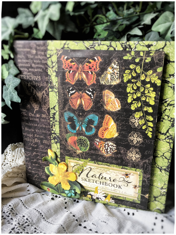 Card Making Ideas Nature Part - 50: Ideas From Diane Schultzu0027s Workshop Using Nature Sketchbook