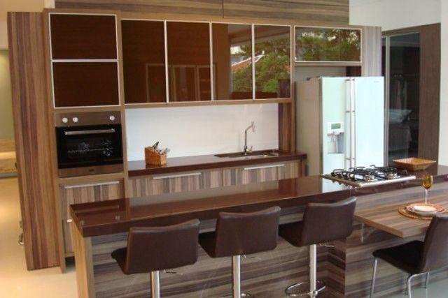 Cozinha marrom Küche Pinterest Küche - küchenfronten lackieren lassen