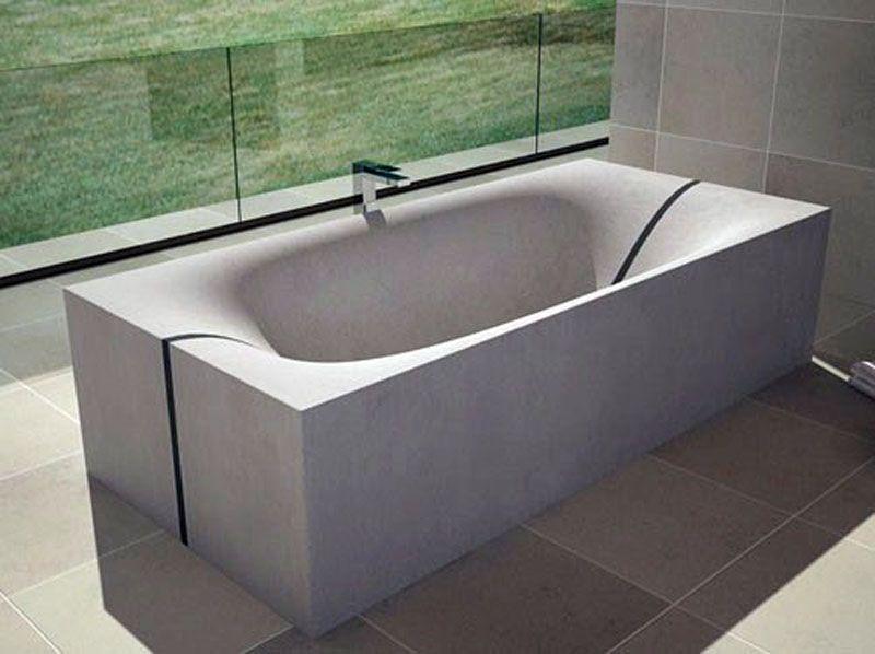 Bathtub Concrete Bath Concrete Bathtub Concrete Bathroom