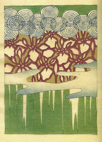 "japaneseaesthetics: "" 1899, Japan, by artist Seifu Tsuda. Seifu ..."