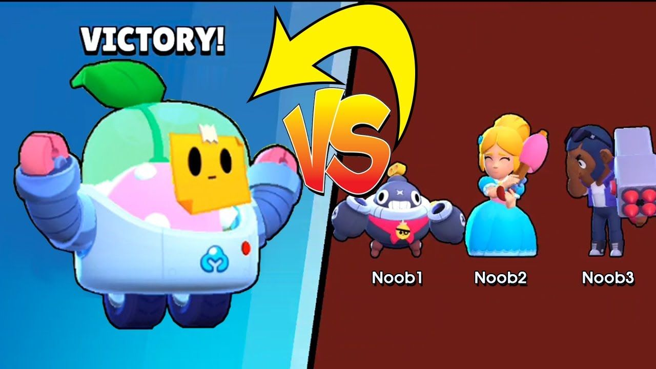 Pro Sprout Vs Noobs Brawl Stars Funny Moments In 2020