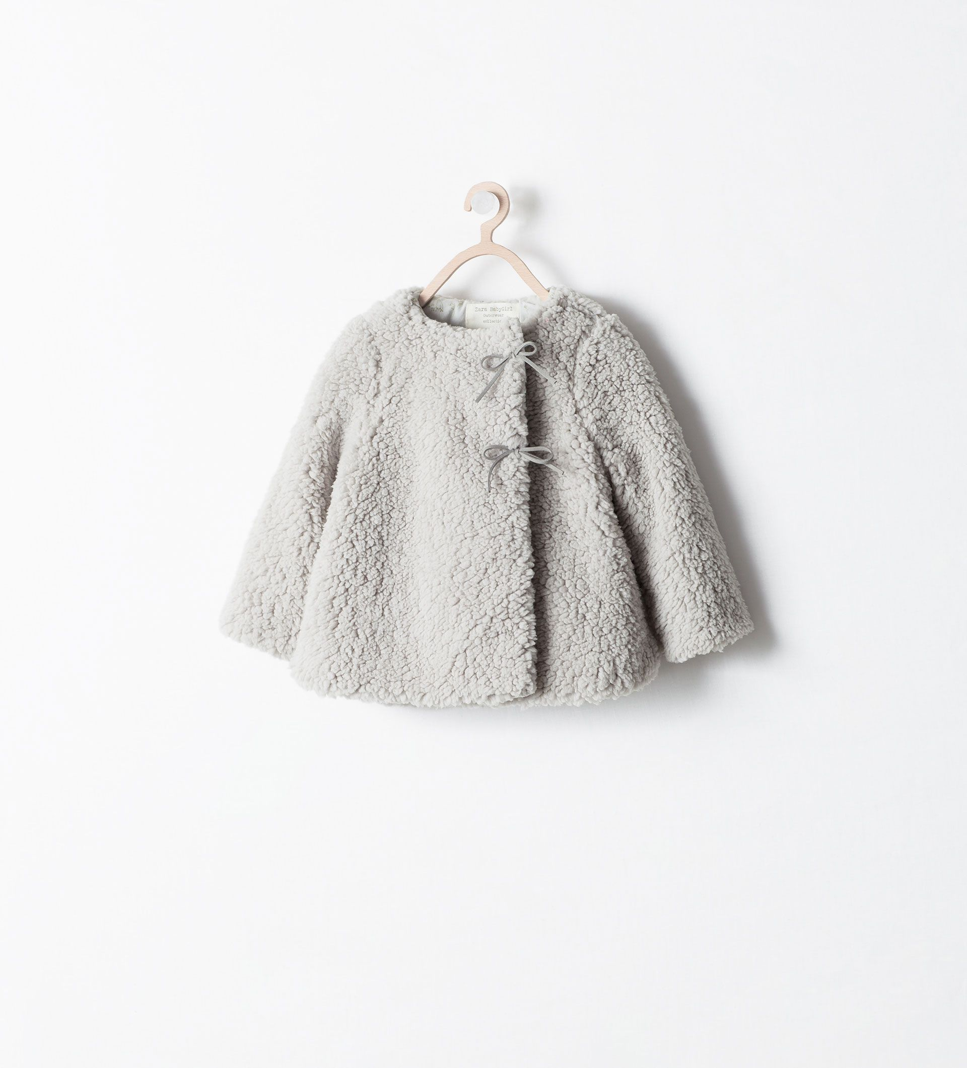 June Image 1 Of Fleece Jacket With Flap Closure From Zara Babykleidung Madchen Outfit Herbst Modische Madchen