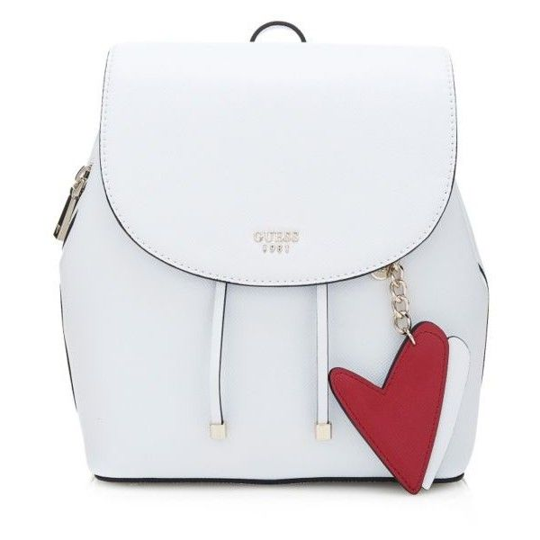 PIN UP POP HEART BACKPACK (€135) ❤ liked on Polyvore featuring bags, backpacks, rucksack bags, day pack backpack, heart shaped bag, daypack bag and heart bag