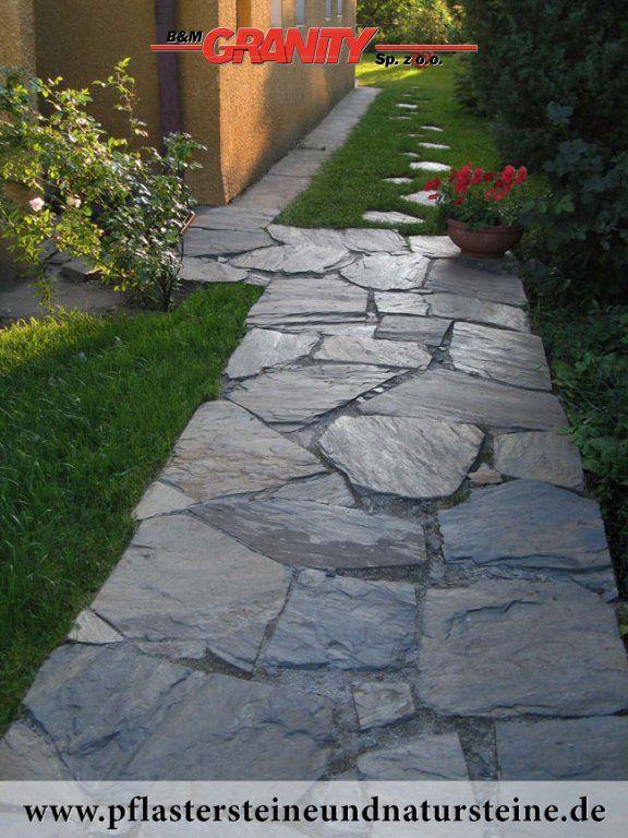 Schieferplatten Garten firma b&m granity - schiefer-platten aus polen http://www