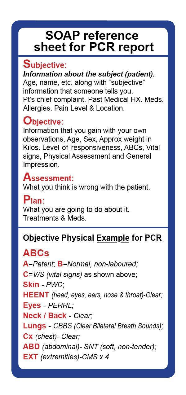 Image result for emt assessment cheat sheet MA Study Pinterest - physical assessment forms