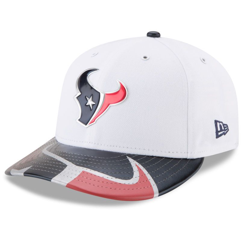 0d143c94c71 Houston Texans New Era 2017 NFL Draft On Stage Low Profile 59FIFTY Fitted  Hat - White