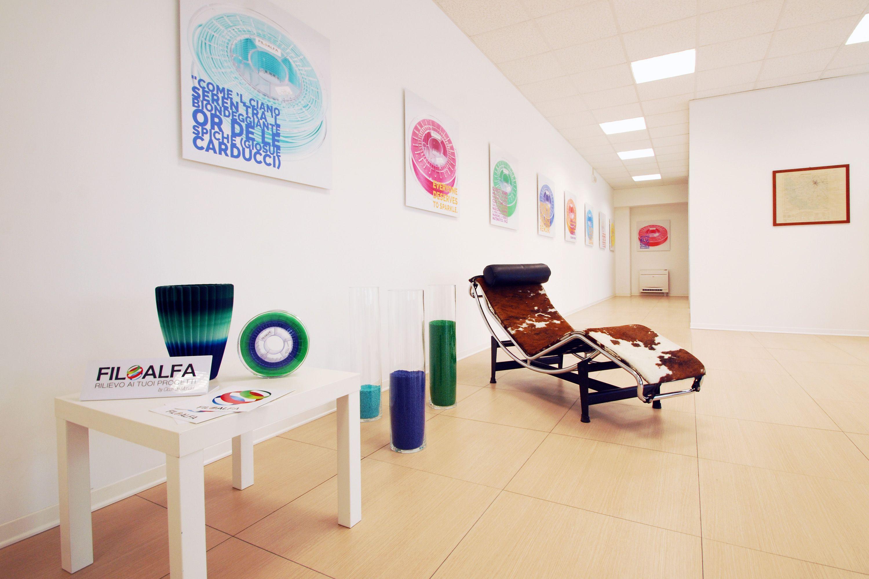 Ciceri de Mondel - FiloAlfa offices.  We produce 3d printing filaments in Italy