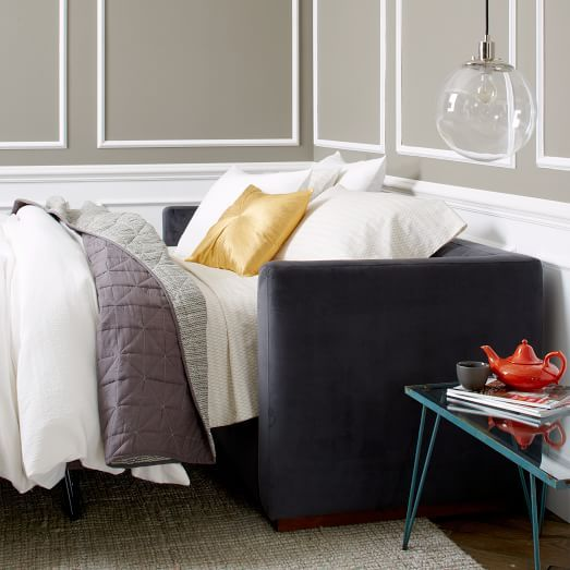 Rochester Sleeper Sofa | West Elm For The Guest Room