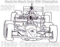 Indycar Coloring Pages The Little Kid In Me Is Excited Indy Cars Helio Castroneves Coloring Pages