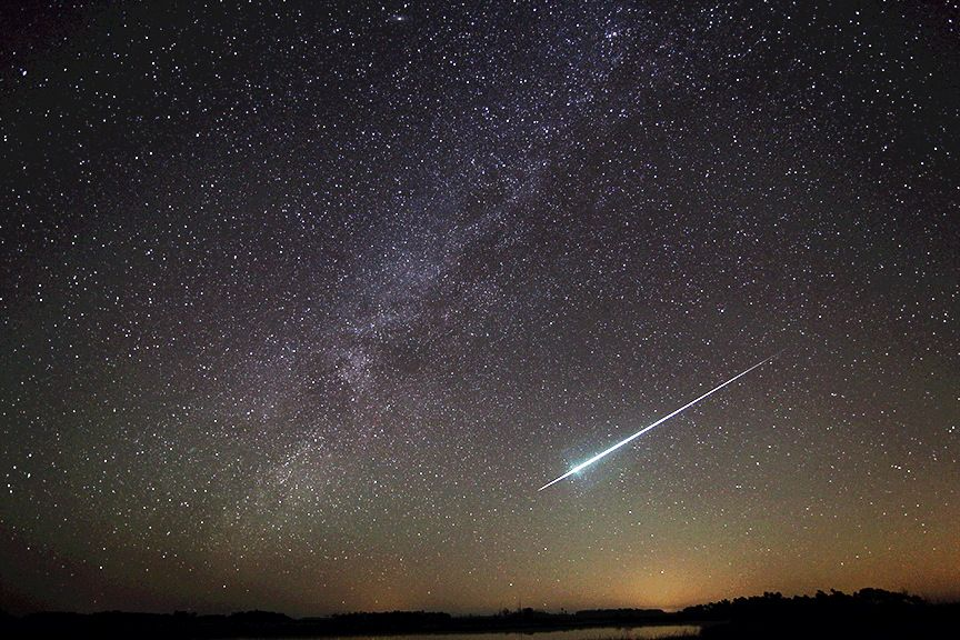 December Is Usually Marked By A Series Of Meteor Showers Geminid