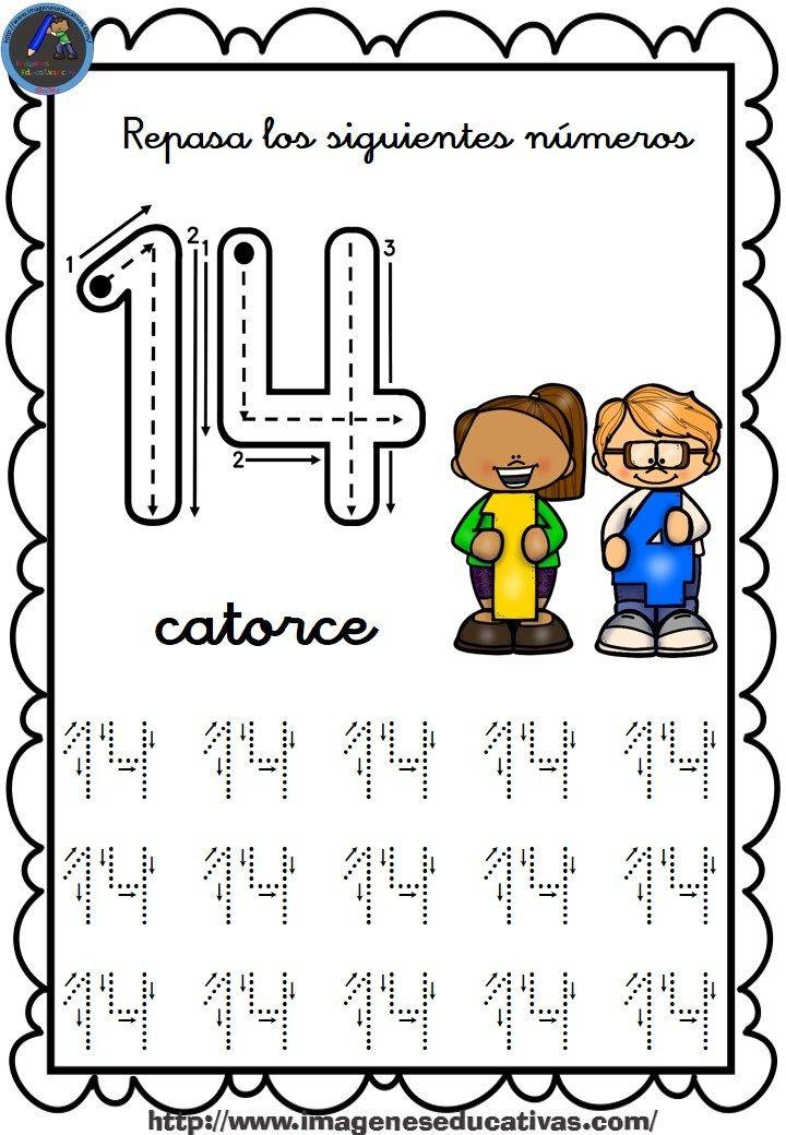 Completo cuaderno para repasar el trazo, números del 1 al 30 ...