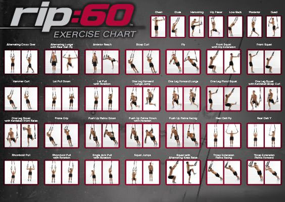 Image Result For Trx Workout Chart Trx Workout