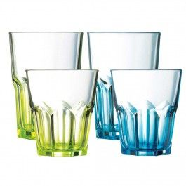 Crazy Colors Glass Collection by Luminarc