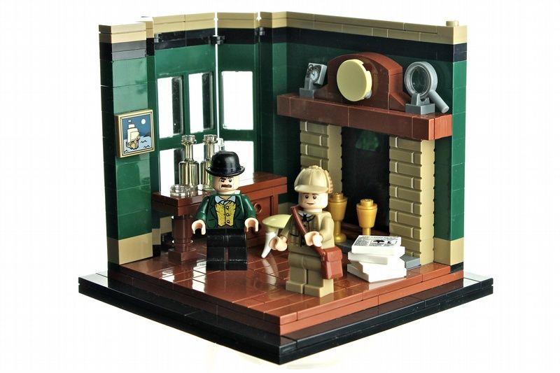 8 Steine sind die Wände hoch! | Sherlock | Pinterest | Legos y Locura