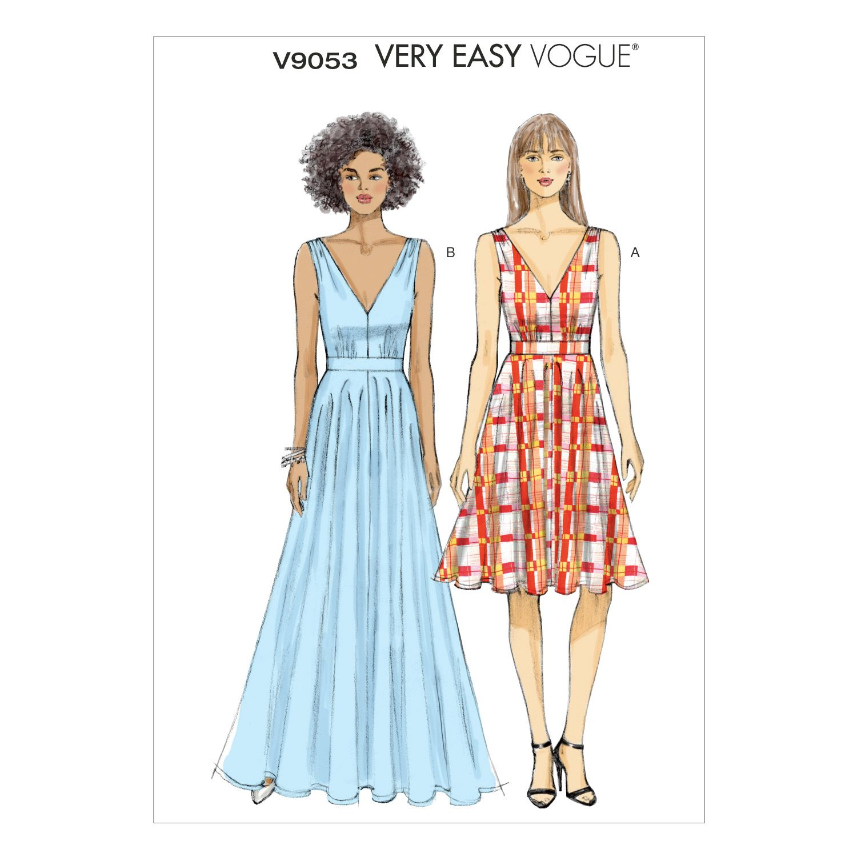 Mccall Pattern V9053 6 - 8 - 10 - 12 - - Vogue Pattern