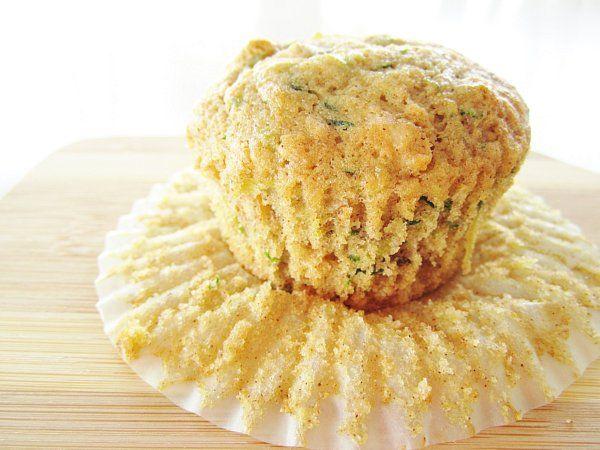 zucchini apricot muffins