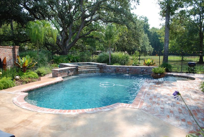 classic pools lafayette la classic pools broussard photos pool plasterswimming pool designsswimming - Roman Swimming Pool Designs