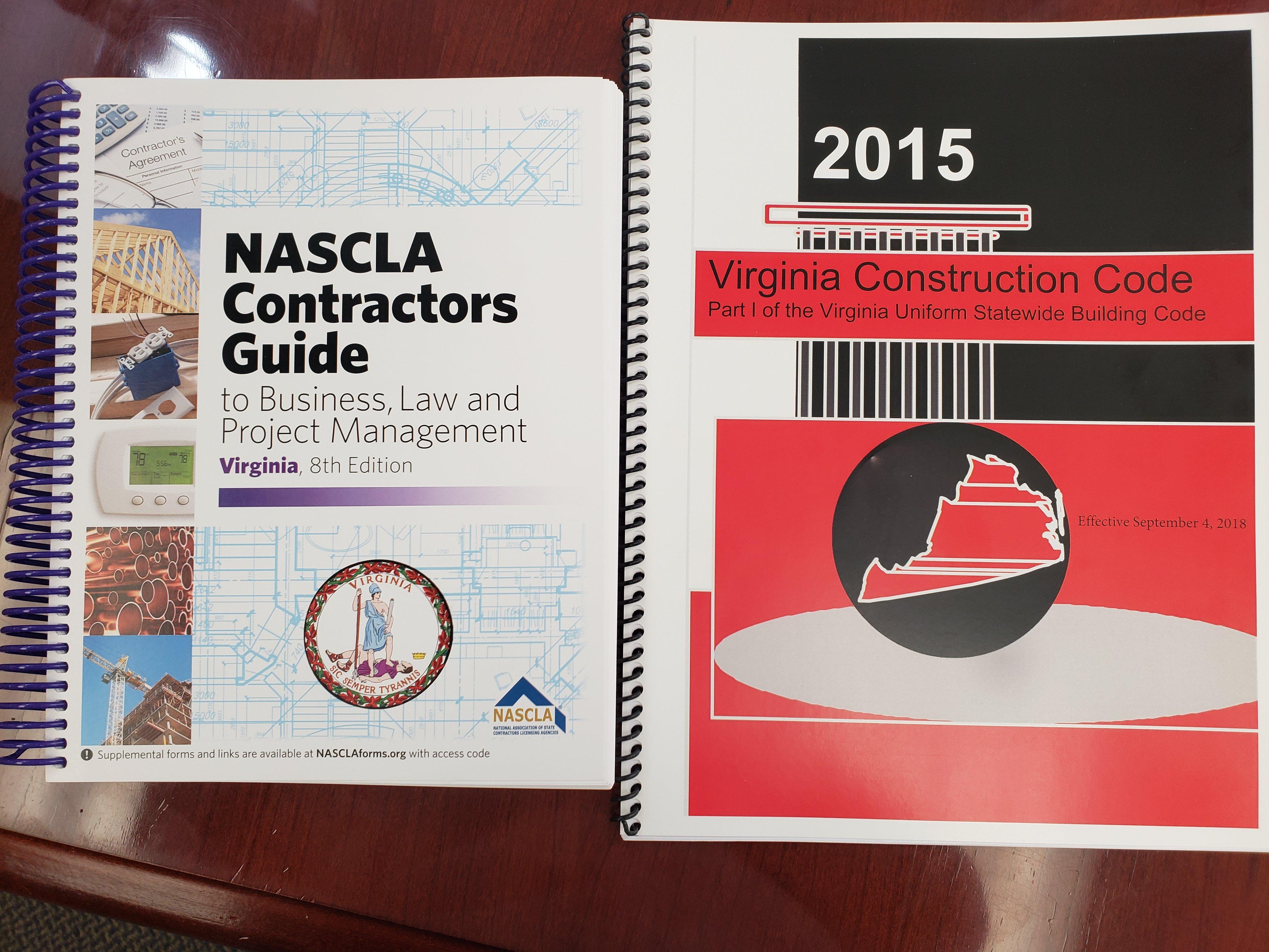Virginia Class A/B Book Bundle Contract management