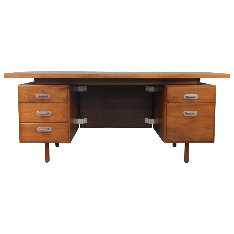 Jens Risom Executive Floating Top Desk 1 | Furniture sale ...