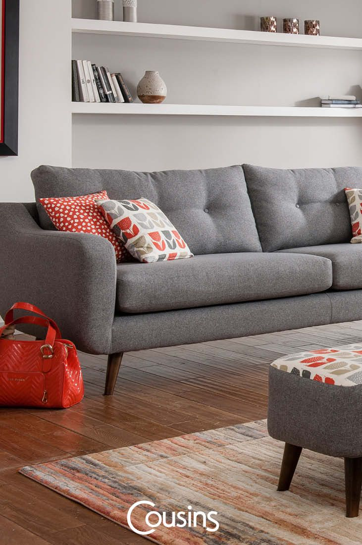 A sofa inspired by mid-century design, our Elvis sofa is a great ...