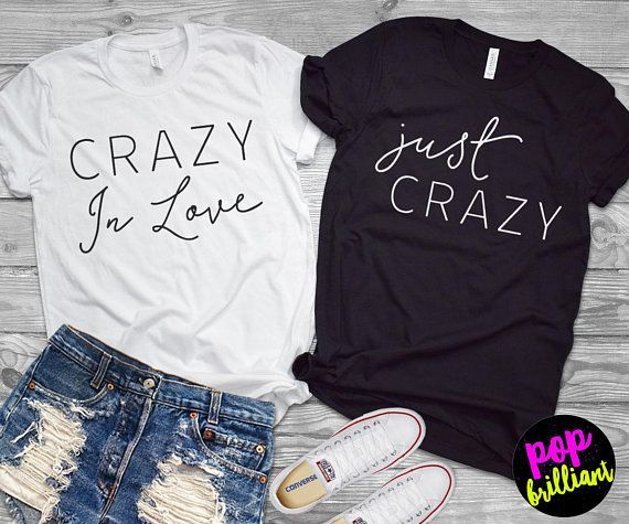 Crazy In Love Shirt, Bachelorette Party Shirts, Bridesmaid Gifts, Bridesmaid Shi…,  #Bachel…