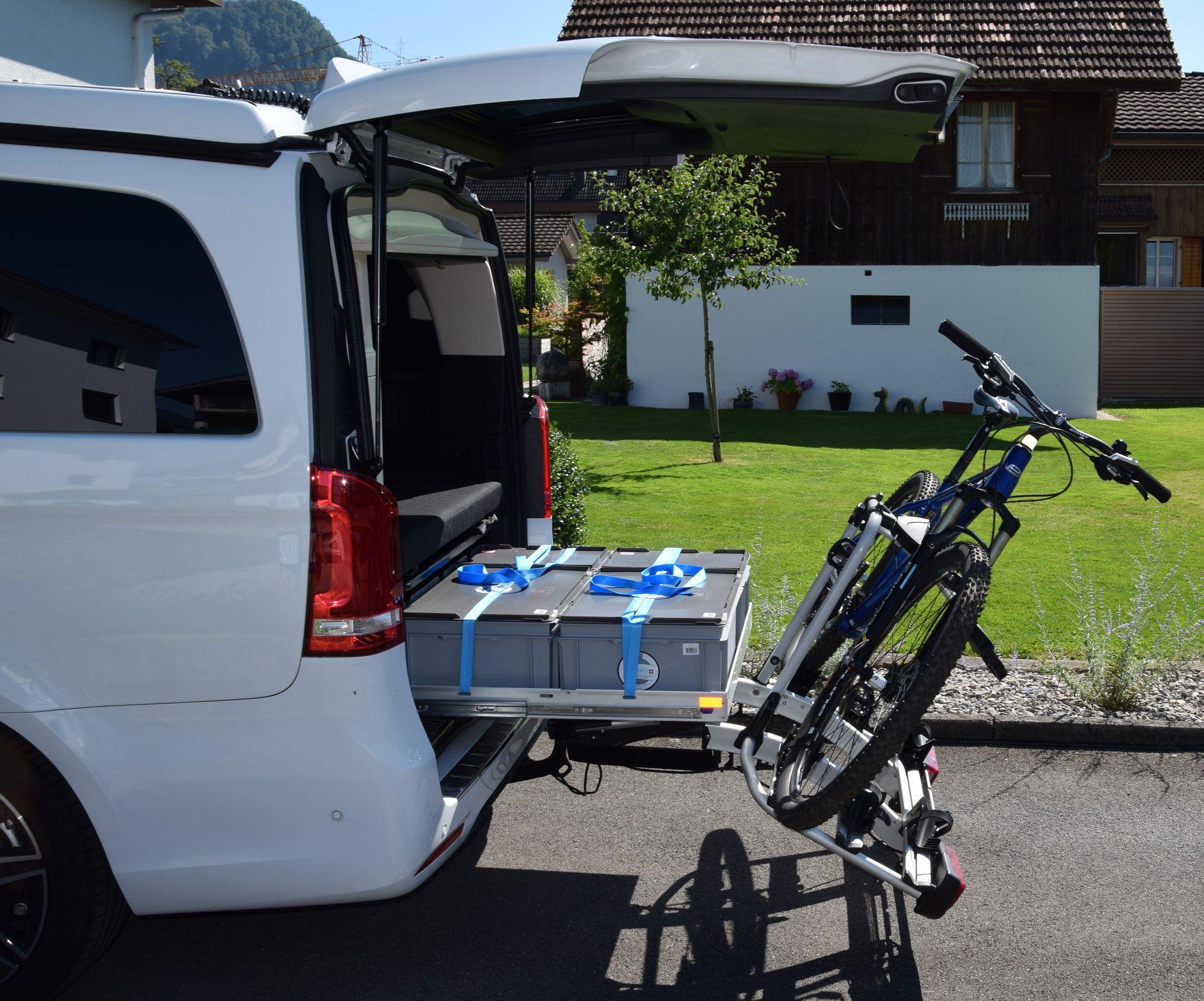 Fahrradtrager Fur Anhangerkupplung Calisolar Ch Vw California