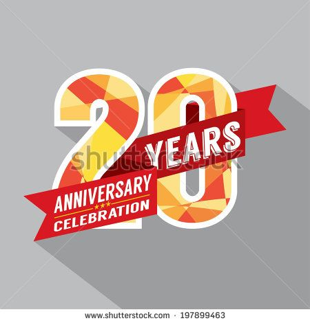 20th anniversary logo designs