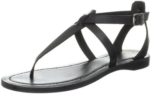 497bb992f910 FRYE Womens Rachel TStrap Sandal Black VegTan 8 M US    Special product  just for you. See it now!